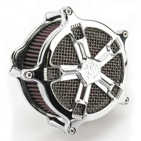 Roland Sands Design Chrome Venturi Turbo Air Cleaner - 0206-2035-CH