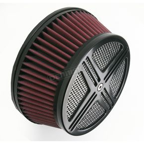 Baron Custom Accessories Black XXX Air Cleaner Assembly - BA-2322-00B