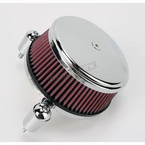 Chrome Stage I Big Sucker Performance Air Cleaner Kit w/Standard Filter - 18-320