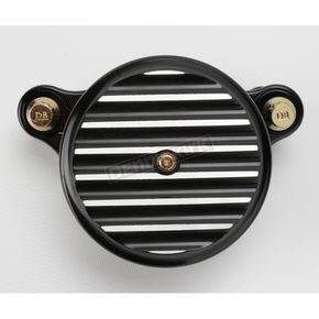 Joker Machine Black Anodized Finned Air Cleaner Assembly - 10-203B