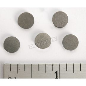 Hot Cams 1.55mm Replacement Shims with 7.48mm OD - 5PK748155