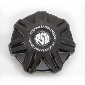 Roland Sands Design Black Ops Tech Fuel Gauge Cap - 0210-2010-SMB
