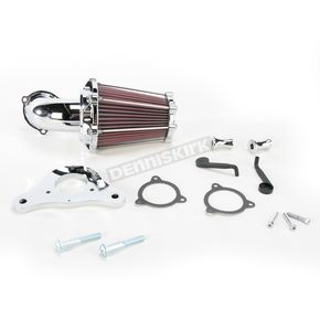 Performance Machine Chrome Fast Air Intake Solution - 0206-2050-CH