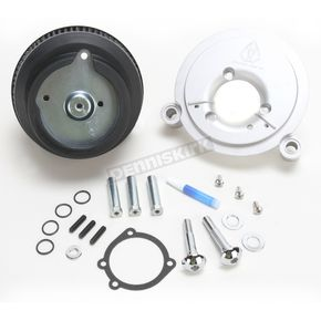 Arlen Ness Natural Big Sucker Stage I Performance Air Cleaner Kit - 18-827