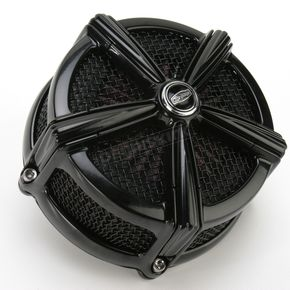 Kuryakyn Black Hi-Five Mach 2 Air Cleaner Only - 9550