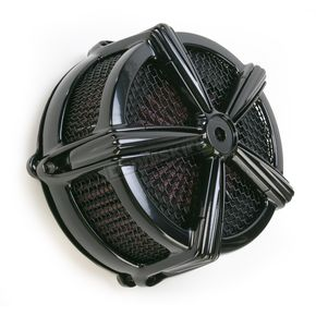 Kuryakyn Black Hi-Five Mach 2 Air Cleaner Kit - 9555