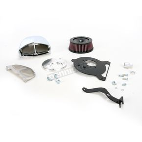 Cobra Chrome Powrflo Air Intake - 06-0137