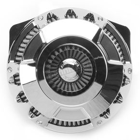 Arlen Ness Chrome Deep Cut Inverted Series Air Cleaner Kit - 18-928