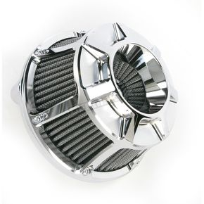 Arlen Ness Chrome Bevelled Inverted Series Air Cleaner Kit - 18-936