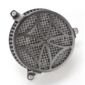 Cobra Black Cross Air Cleaner - 06-0137-02B