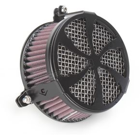 Cobra Black Swept Air Cleaner - 06-0270-01B