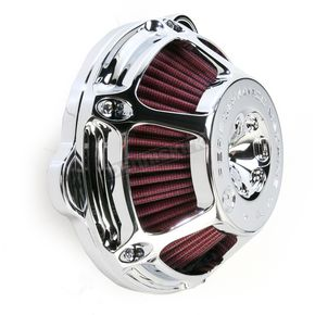 Performance Machine Chrome Max HP Air Cleaner - 0206-2080-CH