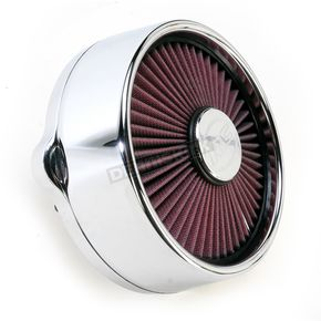 RC Components Chrome Blitz Truflo Air Cleaner  - ACX-01C-04C