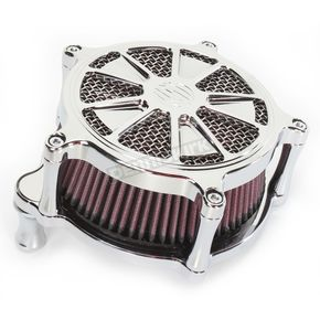 Roland Sands Design Chrome Venturi Raider Air Cleaner - 0206-2097-CH