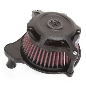Roland Sands Design Black Ops Blunt Split Air Cleaner - 0206-2104-SMB