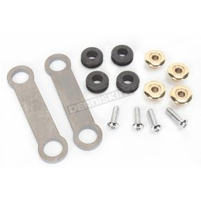Lowbrow Customs Brass Universal Frisco Tank Mount Kit - 003322