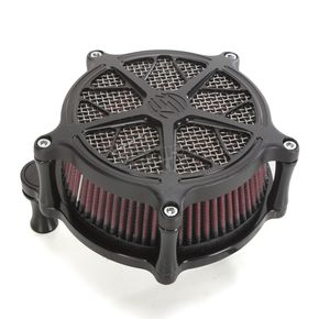 Roland Sands Design Hutch Air Cleaner - 0206-2118-SMB