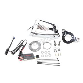 Chrome Hypercharger ES Air Cleaner Kit - 9353