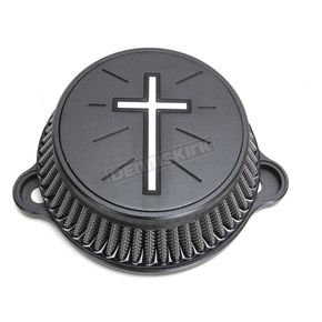 Black Cross Air Cleaner Kit - LA-2395-03B