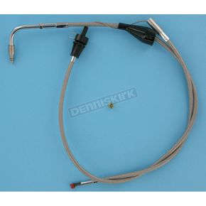 Barnett 39 in. Stainless Steel Idle Cable for Models w/Cruise Control - 102-30-41001