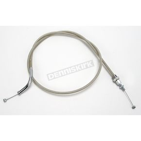 Motion Pro 53 1/2 in. Armor Coat Braided Stainless Steel Push Throttle Cable - 62-0423