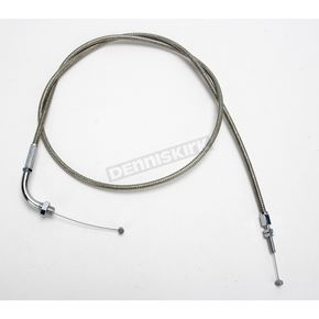 Motion Pro 53 1/2 in. Armor Coat Braided Stainless Steel Pull Throttle Cable - 62-0419