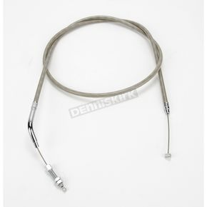 Motion Pro 67 1/2 in. Armor Coat Braided Stainless Steel Clutch Cable - 64-0227