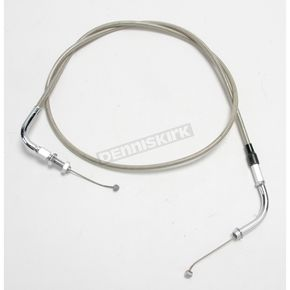 Motion Pro 53 1/2 in. Armor Coat Braided Stainless Steel Push Throttle Cable - 64-0238