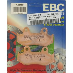 EBC Double H Sintered Metal Brake Pads - FA411HH