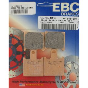 EBC Double H Sintered Metal Brake Pads - FA417/4HH