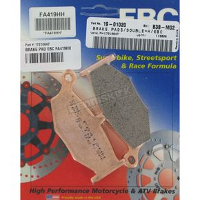 EBC Double H Sintered Metal Brake Pads - FA419HH