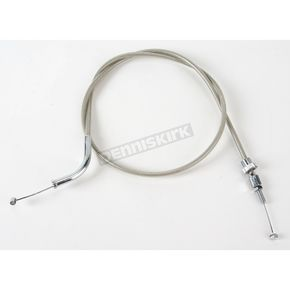 Motion Pro Armor Coat Braided Stainless Steel Push Throttle Cable - 62-0428