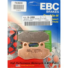 EBC Double-H Sintered Metal Brake Pads - FA86HH