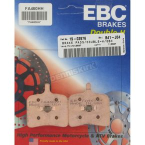 EBC Double-H Sintered Metal Brake Pads - FA460HH