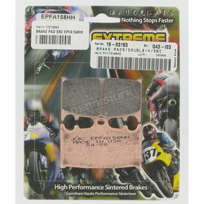 EBC Extreme Performance Brake Pads - EPFA158HH