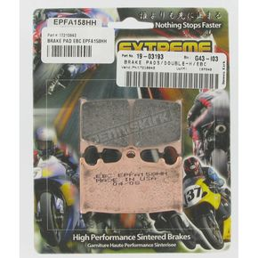 EBC Extreme Performance Brake Pads - EPFA185HH