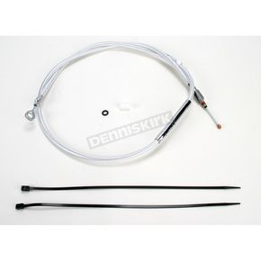 Magnum Custom Sterling Chromite II Designer Series Standard Length High Efficiency Clutch Cable - 32228HE