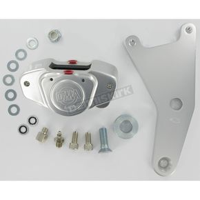 GMA Engineering Custom 2-Piston Rear Classic Clear Anodized Brake Caliper - GMA-115
