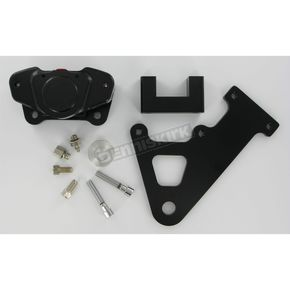 GMA Engineering Custom 2-Piston Rear Classic Black Contrast Brake Caliper - GMA-103SAB