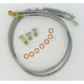 Goodridge Sportbike/Cruiser Stainless Steel Brake Hose Kit - YA28822FP