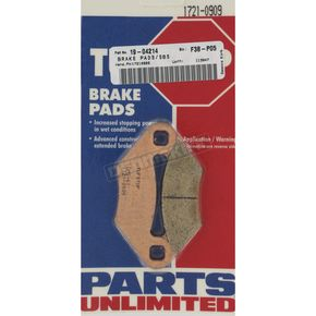 TufStop Sintered Metal Brake Pads - 01646642