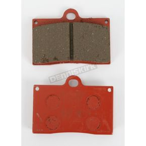 Lyndall Racing Brakes Red Plus Compound Brake Pads for Aftermarket Calipers - 7182-REDPLUS