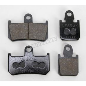 Vesrah Front Sintered Metal Brake Pads - VD277