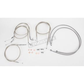Baron Custom Accessories Standard Length Handlebar Cable and Line Kit - BA-8042KT