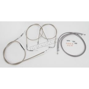 Baron Custom Accessories 16 in. Handlebar Cable and Line Kit - BA-8022KT-16