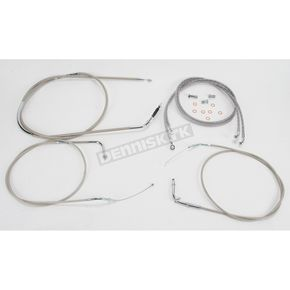 Baron Custom Accessories 16 in. Handlebar Cable and Line Kit - BA-8076KT-16