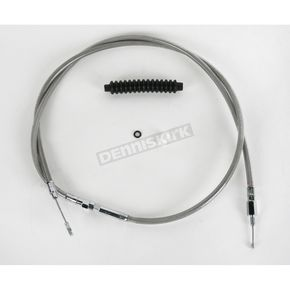 Drag Specialties Alternative Length Braided Clutch Cables for Custom Height/Width Handlebars  - 0652-1457