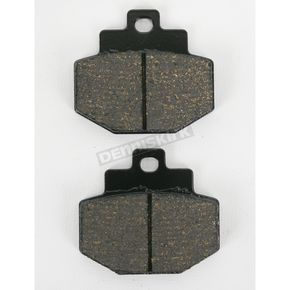 SBS Rear Street HF Ceramic Brake Pads - 772HF