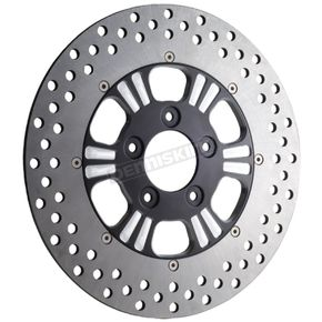 RevTech 11.8 in. Rear Two-Piece Modular Dominator 6 Midnight Series Rotor - 603793