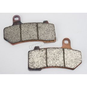 Motor Factory Front or Rear Sintered Brake Pads - 8009054